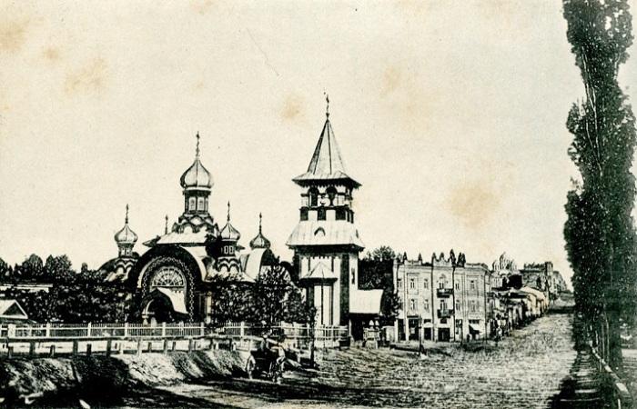 Виды старого Киева.