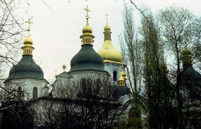 Софийский монастырь - резиденция Киевского митрополита.
