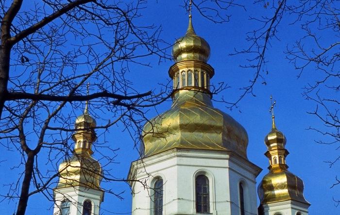 Одна из самых главных достопримечательностей Киева.