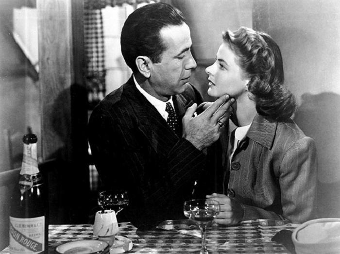 Кадр из фильма «Касабланка» 1942 года выпуска.