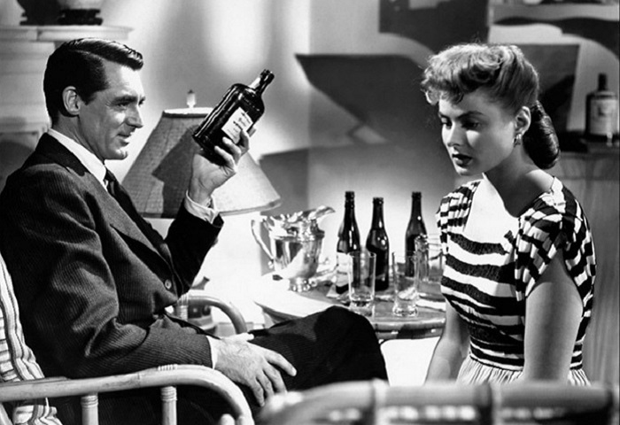 Кадр из фильма «Дурная слава» 1946 года выпуска.