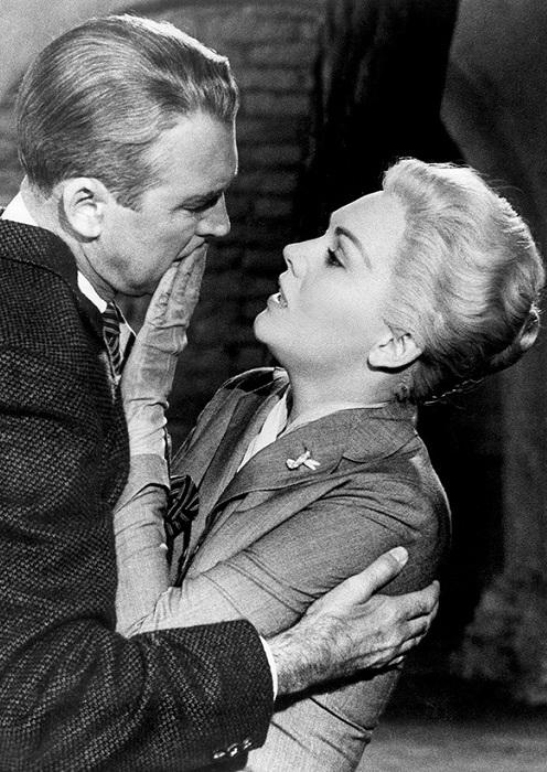 Кадр из фильма «Головокружение» 1958 года выпуска.