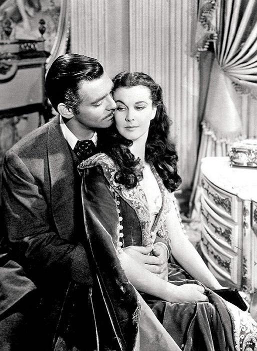 Кадр из фильма «Унесенные ветром» 1939 года выпуска.