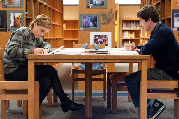 Кадр из фильма «Хорошо быть тихоней» 2012 года выпуска.