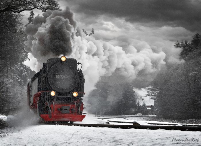 Стальная машина. Автор фотографии: Александра Рик (Alexander Riek).