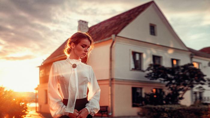 Женская красота. Автор фотографии: Георгий Чернядьев (Georgy Chernyadyev).