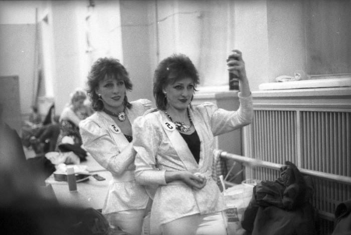 Самые модные участницы конкурса парикмахеров, проходившего в Минске.