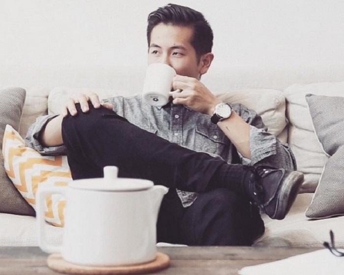Картинки мужчины с кофе