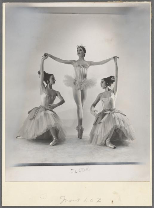 Воздушные и грациозные балерины в образе.