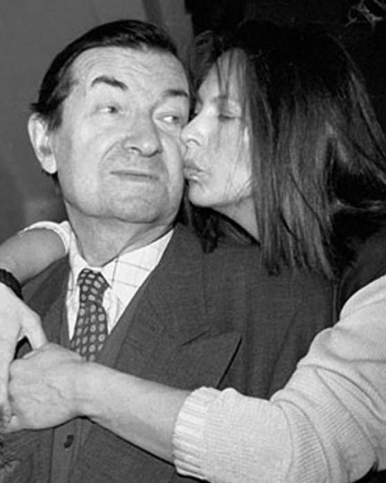 Советский и российский актер вместе со своей дочерью Натальей.