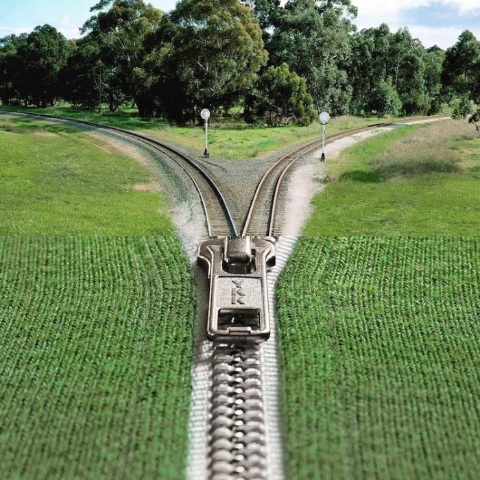 Вот примерно так сходятся железнодорожные пути из разных направлений.