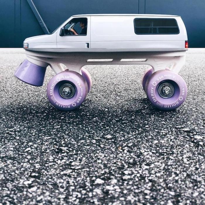 Комбинирование колесных объектов.