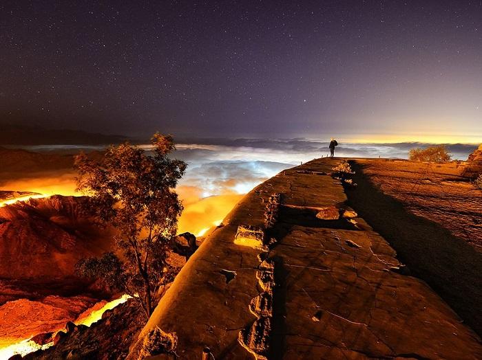 Недалеко от города Таиф в Саудовской Аравии. Фотограф - Abdullrahman Almalki.