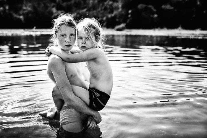 По жизни пойдем вместе. Фотограф: Ники Бун, Новая Зеландия.