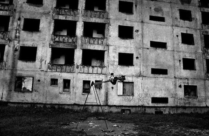 Игры на пустых улицах. Фотограф: Истван Керекас, Болгария.