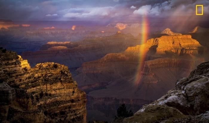 Автор снимка «Гранд-Каньон после дождя» - американский фотограф Нареш Балагуру (Naresh Balaguru).
