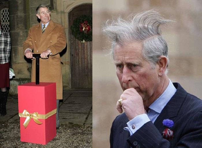 Зажигать рождественские огни – ответственное и увлекательное занятие, но когда позже принц Чарльз увидел, как он вышел на фотографии…