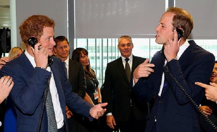 Принцы очень любят подтрунивать друг над другом, но Уильям чаще становится объектом шуток, особенно его лысина.