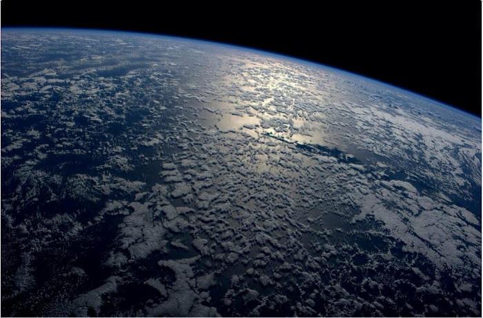 Зрелищное представление земного шара.