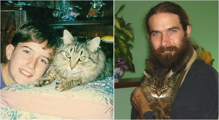 24-летний кот.