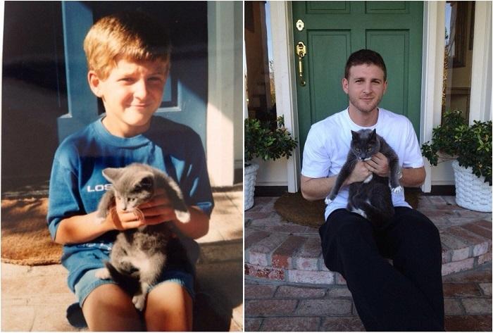 Кошка долгожитель - 17 лет.