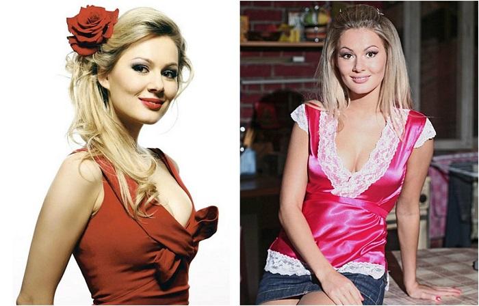 Актриса, получившая популярность благодаря роли сексуальной блондинки Аллы в молодежном сериале «Универ». /Фото:lady.tochka.net