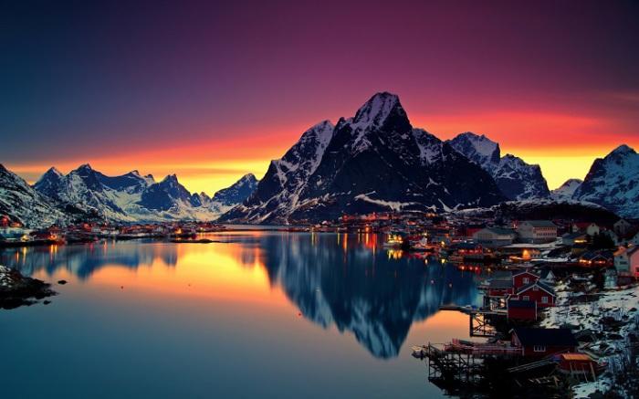 Норвежская жизнь считается наименее стрессовой, более уравновешенной и благополучной.