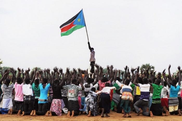 Жители Южного Судана считают себя гражданами независимого государства с 9 июля 2011 года.
