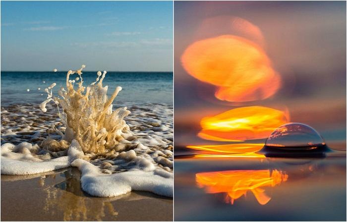 Красота океанических волн в фотографиях Мэтта Берджесса.