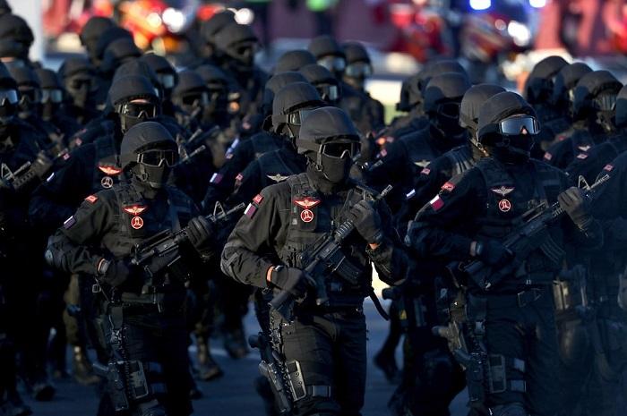 Вооруженные силы 18 декабря участвуют в праздновании Национального дня Катара.