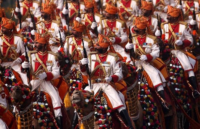 Традиционный военный парад посвященный Дню Республики.