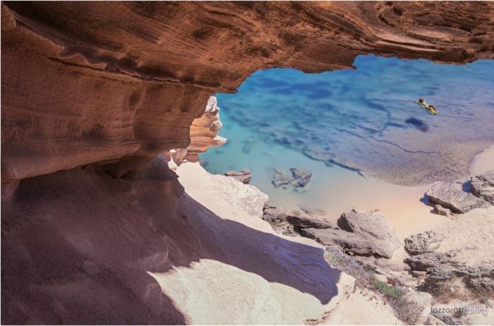 Один из чудесных видов пляжа.