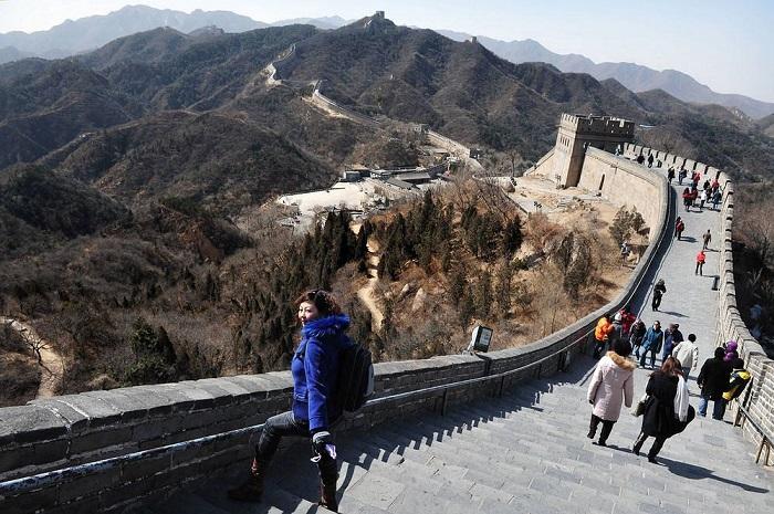 Оборонительное строение древнего Китая привлекающее миллионы туристов.