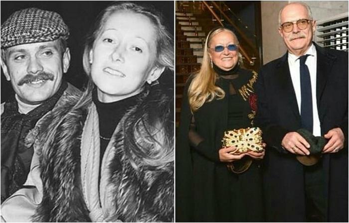 Никита Михалков познакомился со своей будущей женой в Доме кино и не смог устоять перед красотой модели.