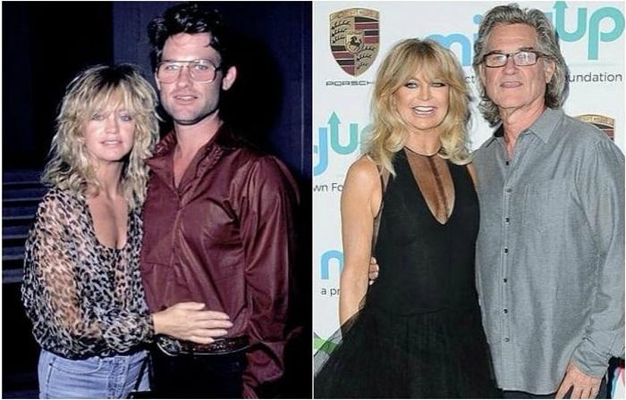Эта была любовь с первого взгляда, Голди и Курта впервые встретились на пробах фильма «Пересменка».