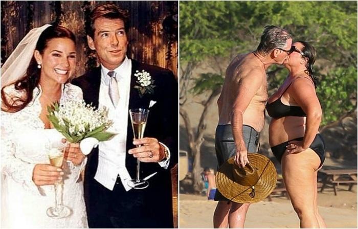 Пирс и Кили были в отношениях семь лет, в 2001 году узаконив свой брак вот уже четверть века радуют друг друга.