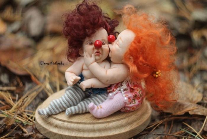 Давай-ка я тебя поцелую...