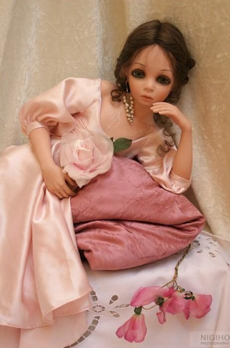Большинство своих куколок Сью Линг Ванг создает в единичном экземпляре.
