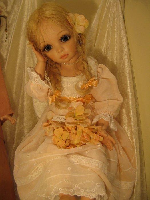 В авторских куколок Сью Линг Ванг просто невозможно не влюбится!