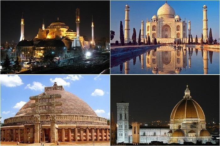Самые известные купола мира.