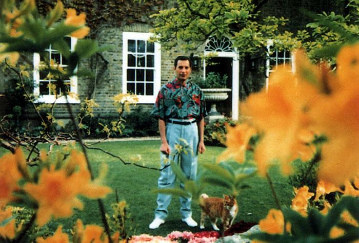 Последний снимок легендарного вокалиста рок-группы «Queen», который умер 24 ноября 1991 года от бронхопневмонии, развившейся на фоне СПИДа.