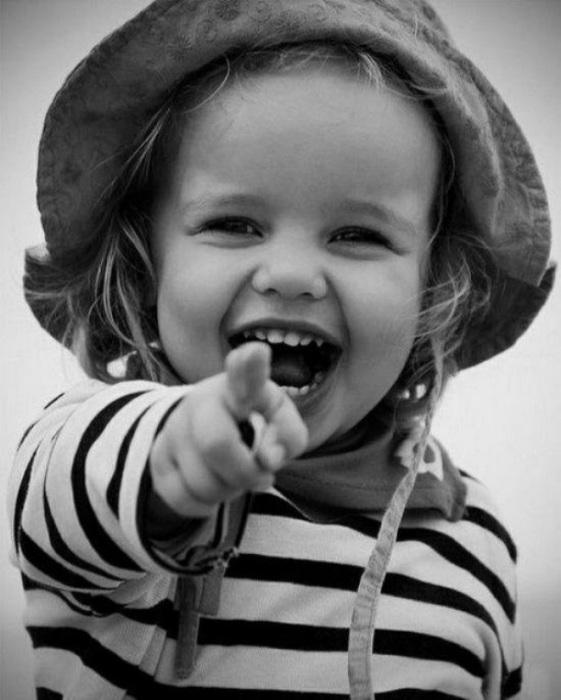 Красивые смеющихся детей