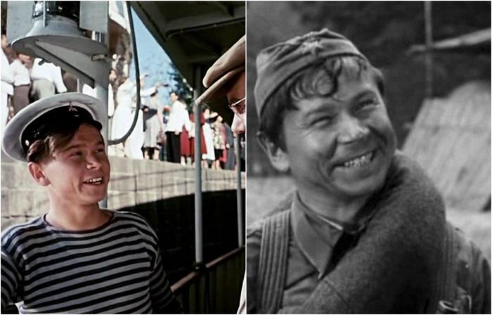 Роль молодого матроса на «Ермаке» стала дебютной для советского актера, снявшегося в известном фильме режиссера М.К. Калатозова.