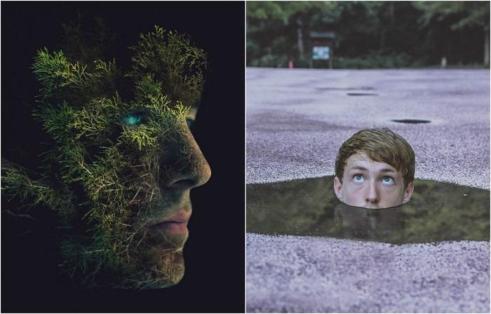 Мир в сюрреалистических фотографиях.