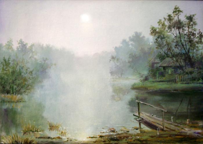 Автор картины – русский художник Чиннов Анатолий.