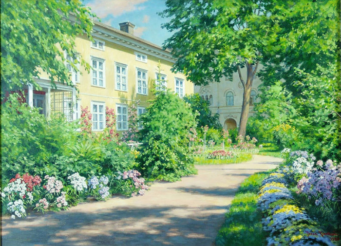 Автор картины – шведский художник Краутен Йохан Фредерик (Krouthen Johan Fredrik).