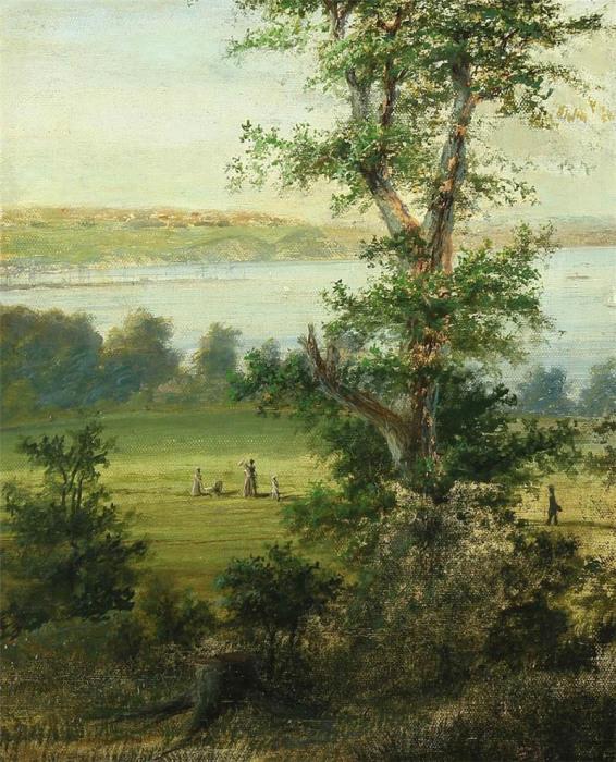 Автор картины – датский художник Август Томсен (August Thomsen).