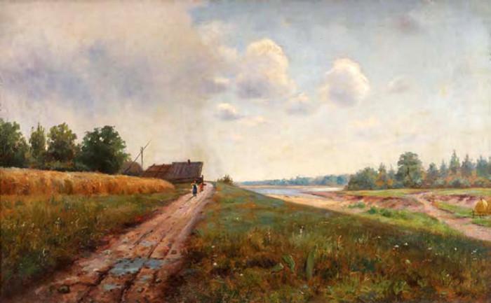 Автор картины – украинский художник Уваров Николай Митрофанович.