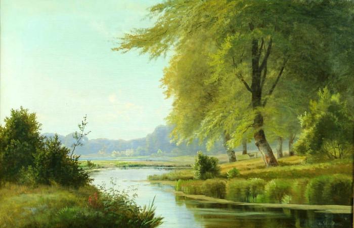 Автор картины – советский художник Шмидт Александр Владимирович.