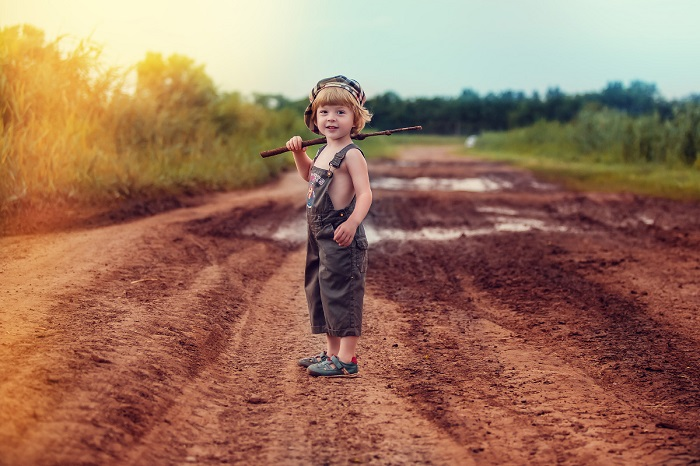 Душевные фото о детстве в деревне.